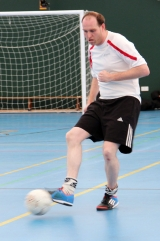 <h5>Player controlling and stopping the ball</h5>