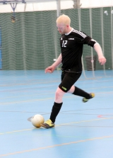<h5>Player about to kick the ball</h5>