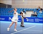 <h5>Odette and Brenda doing a Soundball Tennis Demo</h5>