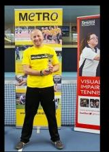 <h5>Tennis Male singles winner receiving their award</h5>