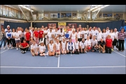 <h5>A group photo of all involved in the Tennis Championships 2014</h5>