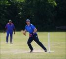 <h5>Batsman starting to run </h5>