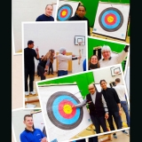 <h5>Collage of Archery Photos</h5>
