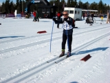 <h5>skier out on the snow in the tracks</h5>