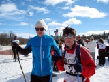 <h5>Skier and guide about to set off</h5>