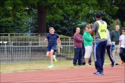 <h5>Under 18s  track runner and guide clapping</h5>