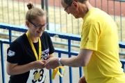 <h5>Happy Under 18 gets her medal </h5>