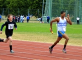 <h5>Relay event both runner giving their all</h5>