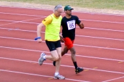 <h5>Guide runner and runner in track event</h5>