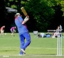 <h5>Batsman swinging his bat</h5>