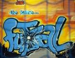 <h5>Futsal Mural inside Swindon Arena</h5>