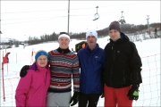 <h5>Jo and Alan Turnbull with guides Chris and Tom  - Ridderrennet trip 2016 in Norway </h5><p>Jo and Alan Turnbull with guides Chris and Tom  - Ridderrennet trip 2016 in Norway </p>