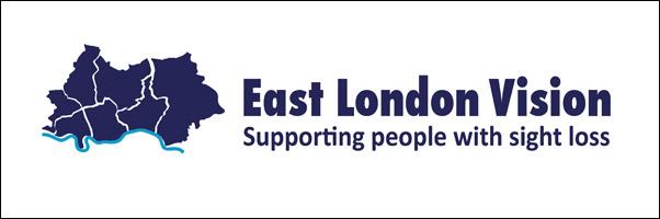 East London Vision logo Banner