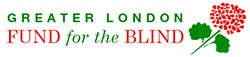 Greater London Fund for the Blind logo - Metro Blind Sport