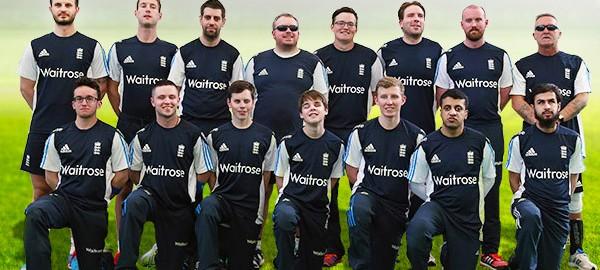 Blind Cricket England Team 2015 India Series