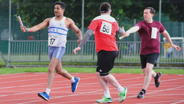 Relay Race at the Athletics Open