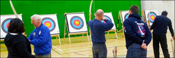 Regular Archery Session Banner