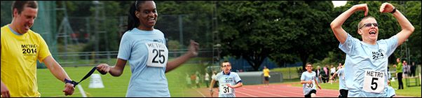 Womens and Under 18s Track events at the Metro Athletics Open 2014