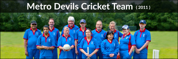Blind Cricket Metro Devils Team 2011