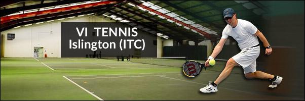 Blind Tennis at the Islington Tennis Centre