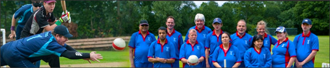 montage Photo banner for Blind Cricket - Cricket for blind and partially sighted people