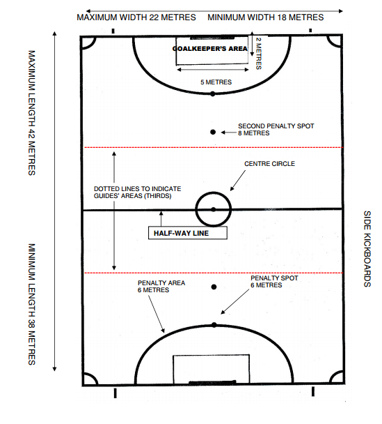 futsal pitch Image