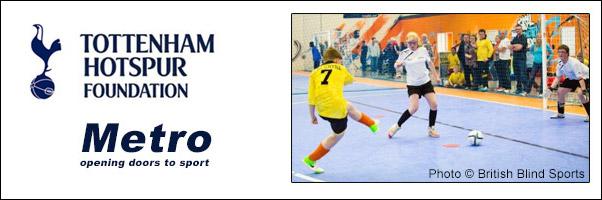 Mini Futsal Sessions with Tottenham Hotspur and Metro