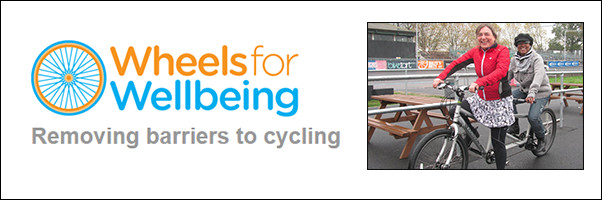 Cycling wheels for wellbeing