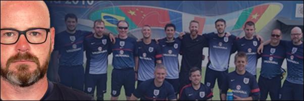 Blind Euros Englands Head Coach Jon Pugh