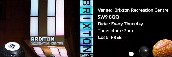 FREE Indoor Bowls Brixton Recreation Centre