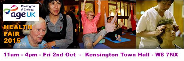 Age UK Health Fair 2nd October 2015
