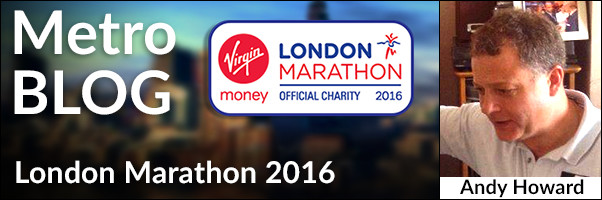 Metro Blog London Marathon 2016