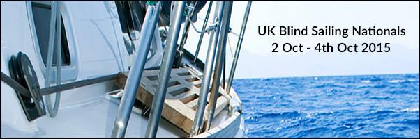 UK Blind Sailing Nationals 2 Oct - 4 Oct 2015