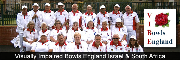 Visually Impaired Bowls England Fund Raising Israel and South Africa Tour