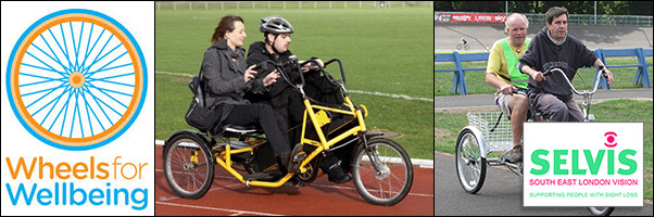 Tandem Cycling Wheels for Wellbeing SELVis