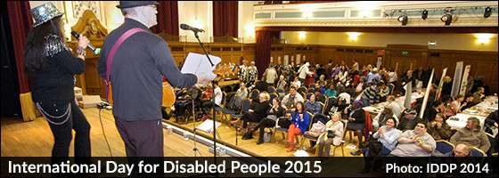 International Day for Disabled People 2015