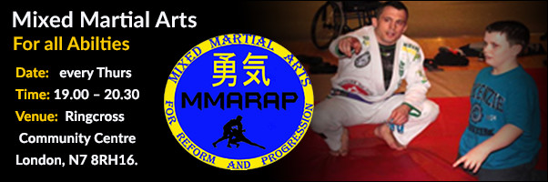 Mixed Martial Arts for all Abilities