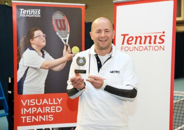 Paul Ryb with Trophy NVITC 2015