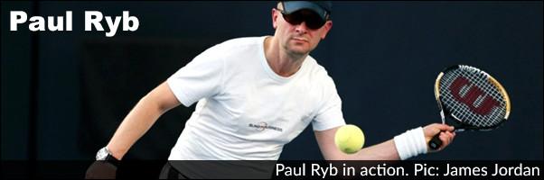 Paul Ryb in action Photo James Jordan