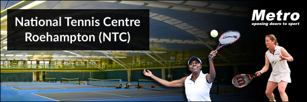 Blind Tennis Session at the National Tennis Centre NTC 2016