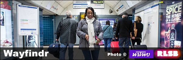 wayfindr guides participants through Euston Tube station