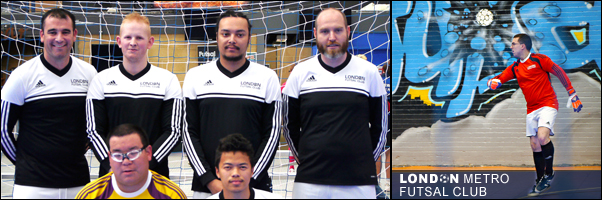 London Metro Futsal Club 2016