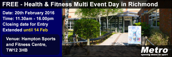 FREE - Health & Fitness Multi Event Day in Richmond