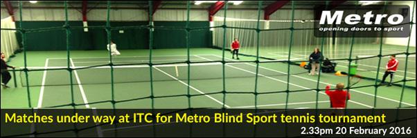 ITC Metro Blind Sport Tennis Tournament