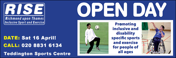 RISE Sat 16 April - Richmond upon Thames Inclusive Sports and Exercise Event