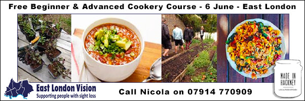 Cookery Course East London Vision 6 June 2016