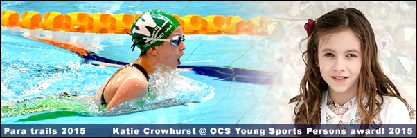 Katie Crowhurst and her Swimming Journey