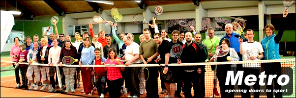 Metro Blind Sport has made history by launching Blind Tennis in Germany