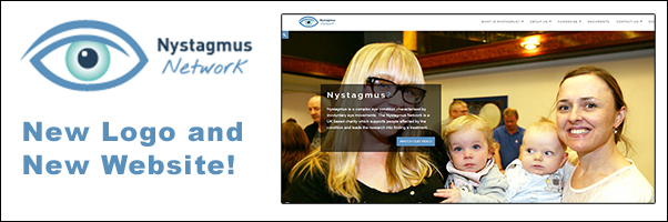 Nystagmus Network New Logo and New Website