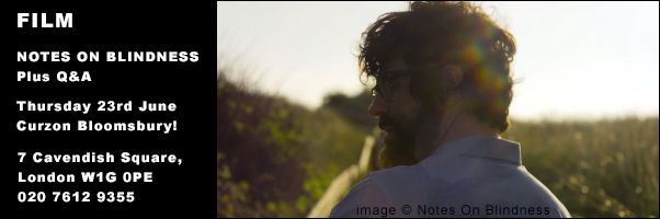 Film Notes on Blindness on 23 June